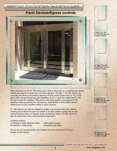 PRL Panic Catalog - Page 1