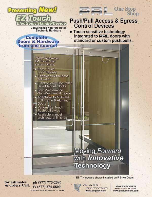 Clad Door Panic Systems