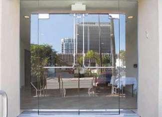 Glass Door Panic System Pl 100 Top Latching Panic Device
