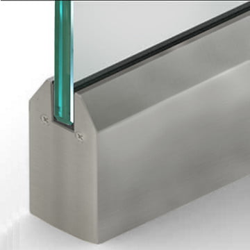 Dry Set Door Rail Tapered Mill
