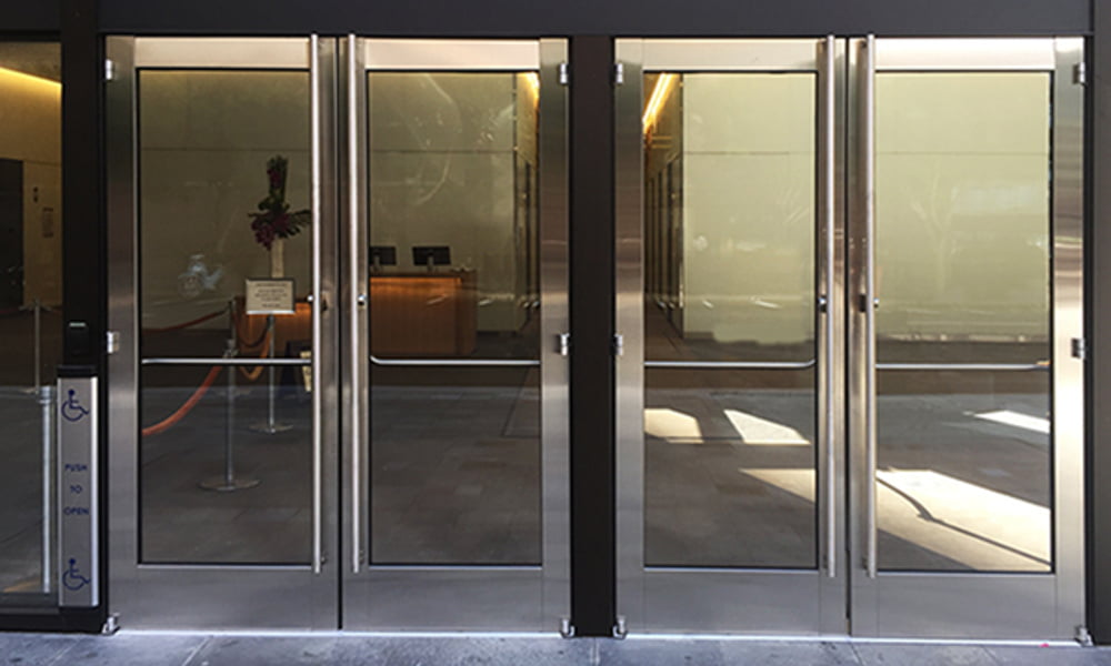 panic door options 2 & Panic Door Options for All Glass u0026 Full Framed Panic Doors