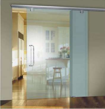Tiffany Series Top Hung Glass Sliding Door System Prl Glass Door Panic System